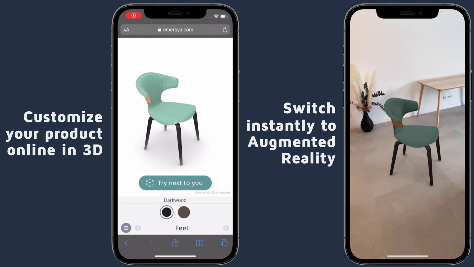 Preview image of Try-out customized products in AR online!
