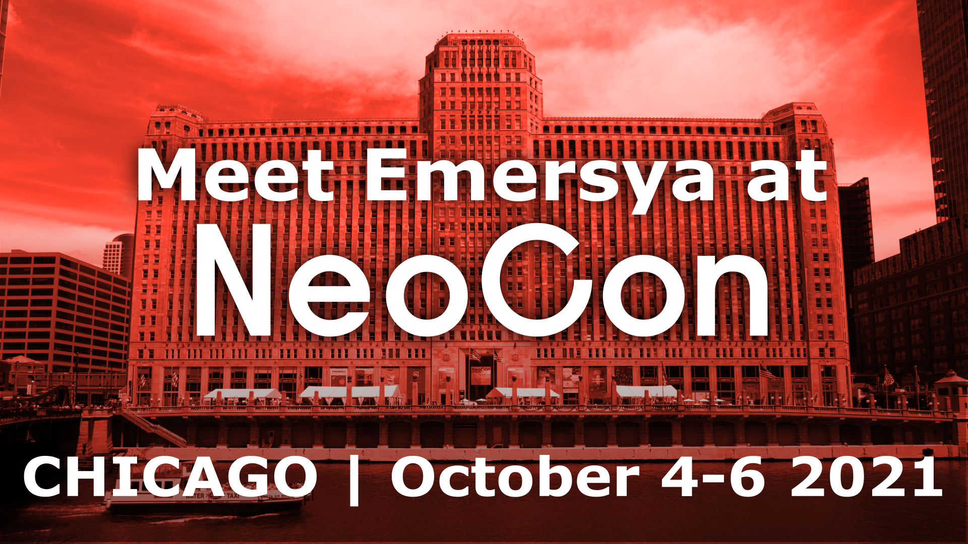 Image of Emersya is off to Chicago for NeoCon 2021